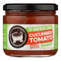 My Brother's Salsa Cucumber Tomato Medium Salsa  - Case of 6 - 11 OZ - 11 OZ