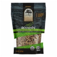 Truroots Organic Trio Quinoa - Accents Sprouted - Case of 6 - 8 oz. - 8 OZ