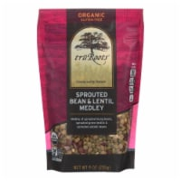 Truroots Organic Green Lentils - Sprouted - Case of 6 - 9 oz. - Case of 6 - 9 OZ each