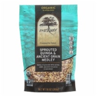 Truroots Organic Trio Quinoa - Accents Sprouted - Case of 6 - 10 oz.