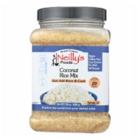 Neilly's - Rice Mix Coconut - Case of 6 - 24 OZ - Case of 6 - 24 OZ each