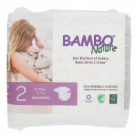 Bambo Nature - Diapers Size 2 7-13 Lbs - Case of 6 - 30 CT - Case of 6 - 30 CT each