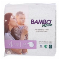 Bambo Nature Eco-Friendly Diapers  - Case of 6 - 30 CT - Case of 6 - 30 CT each