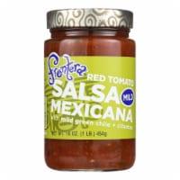 Frontera Foods Salsa Mexicana (Mild) - Salsa Mexicana - Case of 6 - 16 oz.