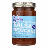 Frontera Foods Salsa Mexicana (Medium) - Salsa Mexicana - Case of 6 - 16 oz.