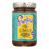 Frontera Foods Double Roasted Tomato Salsa - Tomato Salsa - Case of 6 - 16 oz.