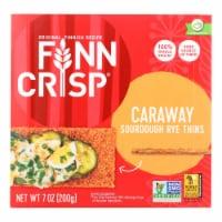 Finn Crisp Crispbread - Caraway - 7 oz - case of 9 - Case of 9 - 7 OZ each