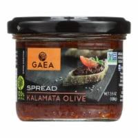 Gaea Kalamata Olive Tapenade - Case of 6 - 3.53 oz