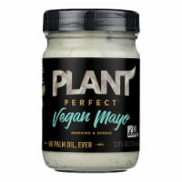 Plant Perfect - Mayonnaise Original Vegan - CS of 6-12 FZ - Case of 6 - 12 FZ each