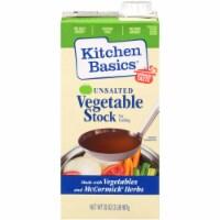 Kitchen Basics Unsalted Vegetable Stock  - 1 Each - 32 FZ