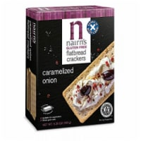 Nairn's Gluten Free Flatbread Caramelized Onion, 5.29 oz (Pack of 6) - 6