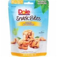 Dole Snack Bites Cashew Nut Clusters, 5 Ounce -- 6 per case - 6-5 OUNCE