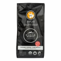 Kicking Horse Ground Coffee - Smart Ass - Case of 6 - 10 oz.