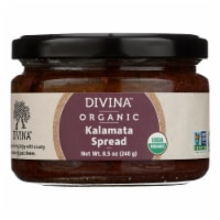 Divina - Organic Kalamata Olive Spread - Case of 6 - 8.5 oz.