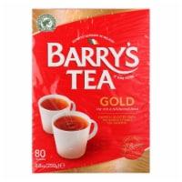 Barry's Tea - Irish Tea - Gold Blend - Case of 6 - 80 Bags - Case of 6 - 80 BAG each