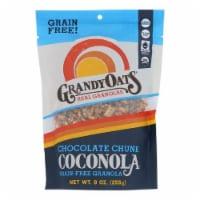 GrandyOats Grain Free Granola Chocolate Chunk Coconola, 9oz (Pack of 6) - 6
