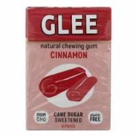 Glee Gum Chewing Gum - Cinnamon - Case Of 12 - 16 Pieces - 16 PC