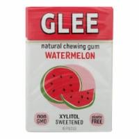 Glee Gum Chewing Gum - Wild Watermelon - Sugar Free - Case Of 12 - 16 Pieces - 16 CT