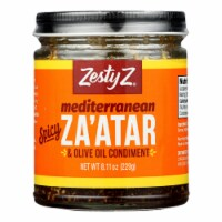 Zesty Z - Condiment Zaatar Spicy - Case of 6 - 8.1 OZ