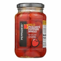 Peppadew Mild Whole Piquante Peppers  - Case of 12 - 14 OZ