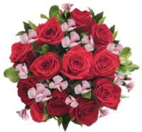 Exquisite Red Rose Bouquet (Approximate delivery is 1-3 Days)