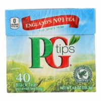 PG Tips Black Tea - Pyramid - Case of 6 - 40 Bags - Case of 6 - 40 BAG each