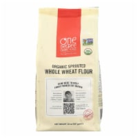 One Degree Organic Foods Sprouted Flour - Whole Wheat - Case of 6 - 32 oz.