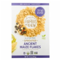 One Degree Organic Foods Ancient Maize Flakes - Veganic - Case of 6 - 12 oz. - 12 OZ