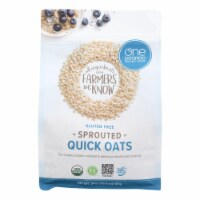 One Degree Organic Foods Gluten Free Sprouted Quick Oats - 4 ct / 24 oz