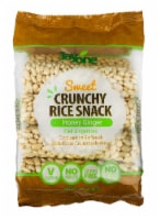 Jayone Crunchy Rice Snack Honey Ginger, 2.8 oz (Pack of 6) - 6