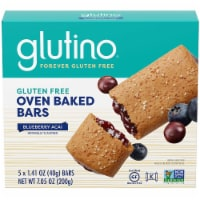 Glutino Blueberry Breakfast Bar, 7.1 Ounce -- 12 per case.