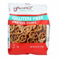 Glutino Pretzel Crisps - Gluten Free - Case of 6 - 6 oz.