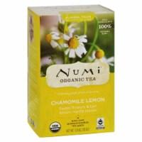 Numi Organic Tea Caffeine Free Chamomile Lemon - 18 Tea Bags - Case of 6 - 18 BAG
