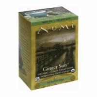 Numi Tea Organic Tea - Decaf Ginger Lemon - Case of 6 - 16 Bags - 16 BAG