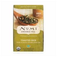 Numi Tea Toasted Rice Green Tea - Organic - Case of 6 - 18 Bags - 18 BAG