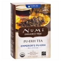 Numi Emperor's Puerh Black Tea - 16 Tea Bags - Case of 6 - 16 BAG