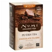 Numi Tea Organic Chocolate Pu-Erh - Case of 6 - 16 Bag - 16 BAG