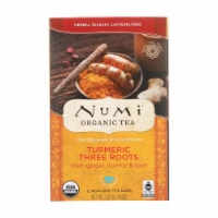 Numi Tea - Organic - Turmeric - Three Roots - 12 Bags - Case of 6 - 12 BAG