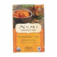 Numi Tea - Organic - Turmeric - Fields of Gold - 12 Bags - Case of 6 - 12 BAG