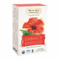 Numi Tea Organic Herb Tea -Embrace - Case of 6 - 16 count - Case of 6 - 16 CT each