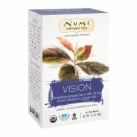 Numi Tea Organic Herb Tea - Vision - Case of 6 - 16 count - 16 CT