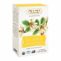 Numi Tea Organic Herb Tea - Balance - Case of 6 - 16 count - 16 CT
