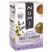 Mumi Organic Sweet Slumber Chamomile & Lavender Caffeine Free ,16 Bags (Pack of 6) - 6