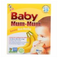 Hot Kid Baby Mum Rice Biscuit - Banana - Case of 6 - 1.76 oz. - Case of 6 - 1.76 OZ each