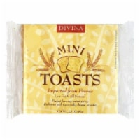Divina Mini Toasts, 2.82 OZ (Pack of 24) - 24