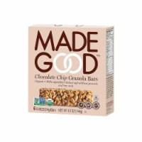 MadeGood Chocolate Chip Granola Bars - 6 ct / 0.85 oz