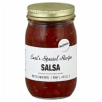 Curts Special Recipe Salsa Triple Hot , 1 Pint (Pack of 6) - 6