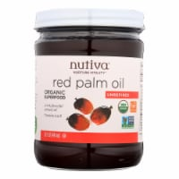 Nutiva Palm Oil - Organic - Superfood - Red - 15 oz - Case of 6 - Case of 6 - 15 FZ each