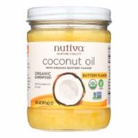 Nutiva Organic Coconut Oil - Buttery - Case of 6 - 14 oz. - Case of 6 - 14 FZ each