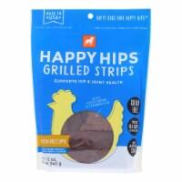 Happy Hips - Strips Green Free Chicken - Case of 6 - 12 OZ
